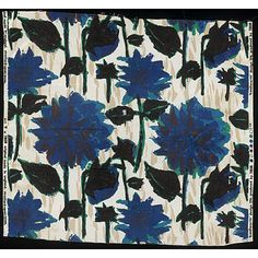 Bright and beautiful Tibor Reich fabric design, 'Kenilworth' 1962