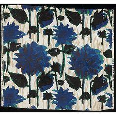 Bright and beautiful Tibor Reich fabric design, 'Kenilworth' 1962