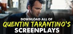 Quentin Tarantino Screenplays What can be said about Quentin Tarantino the screenwriter that hasn& been said before? QT has, easily, one of the most unique and singular voice in the history of cinema. Pulp Fiction Script, Online Film School, Screenwriting Books, Los Angeles Film School, Death Proof, Jackie Brown, Natural Born Killers, Tim Roth, Digital Film