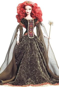 Deirdre of Ulster Barbie Doll- Irish Barbie Doll <3 all the Irish Barbies. lol! i actually have the Princess of Ireland Barbie in my room. LOL my heritage is showing.