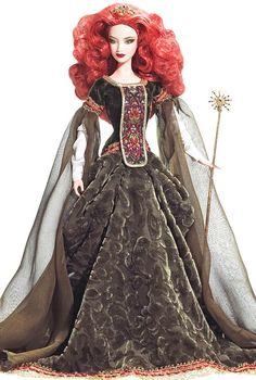Deirdre of Ulster Barbie Doll- Irish Barbie Doll