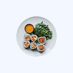 Carrots are more powerful than you think, they're high in beta-carotene, which acts as an antioxidant and slows down the aging of cells.  Our brown rice veggie roll boast a carrot-y crunch.