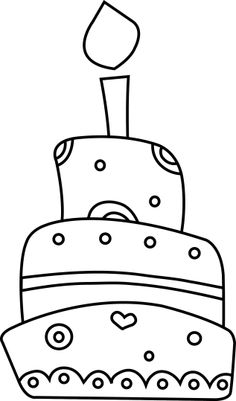 Cupcakes, sorvetes, bolos e doces (Cupcakes, ice creams, cakes and sweets) Colouring Pages, Coloring Sheets, Coloring Pages For Kids, Coloring Books, Art Drawings For Kids, Easy Drawings, Art For Kids, Birthday Doodle, Happy Birthday