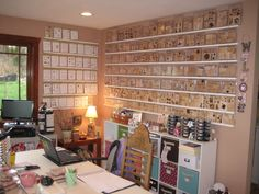 great idea for stamp storage, if i had any wall space (that's a lotta stamps!)