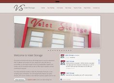 Valet Storage: Web Design, Web Development, Software integration, Online Payments