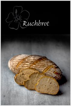 The Ruchbrot is in Switzerland a very popular and . Pan Bread, Bread Baking, Cooking Chef, Sourdough Bread, Bread Recipes, Yummy Recipes, Baked Potato, Baked Goods, Switzerland