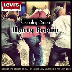 """Country Singer/Musician Marty Brown from Franklin, KY. Give Marty your support and be sure to """"Like"""" & """"Share"""" his Facebook """"FAN"""" page. www.facebook.com/... (Please note: Levi's is not an official Sponsor of Marty Brown and this is not a advertisement or promotion for Levi's)."""