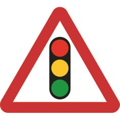 Traffic Lights Road Sign, bulk discounts available and FREE delivery on all orders over Trusted UK Specialists in Products for Business, est. British Road Signs, Driving Theory, Motorcycle Party, Pedestrian Crossing, Garage Art, Traffic Light, 2nd Birthday, Transportation, Kindergarten