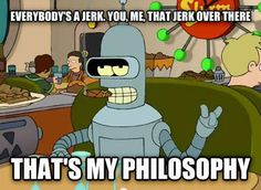 Bender knows what's up