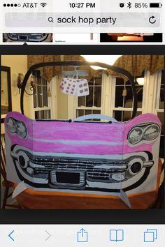 Cardboard muscle cars