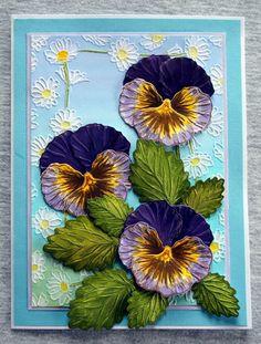 Sheena Victorian Floral Pansy Stamp Set. Sheena Victorian Floral Pansy Die Set. @CraftersCompUS