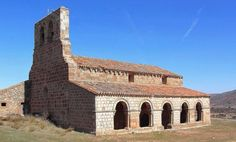 Montejo de Tiermes, provincia de Soria - Ermita románica de Santa María de Tiermes, S. XII