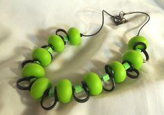 Jak Designs Australian Artists, Artisan, Beads, Cubes, Lime, Plastic, Store, Green, Design