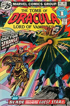 The Tomb of Dracula vs. Doctor Strange