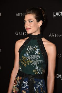 Charlotte Casiraghi in 2014 LACMA Art + Film Gala Honoring Barbara Kruger And Quentin Tarantino Presented By Gucci - Red Carpet