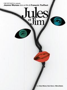 Bob Caruthers: Jules et Jim Poster (2010) (by Bob Caruthers)