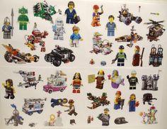 1 x Display//50 pochettes NEUF LEGO The Ninjago Movie Sticker-LEERALBUM