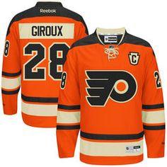 purchase mike mens philadelphia flyers claude giroux reebok orange premier  alternate jersey ice hockey teams hockey d5b93f9b4