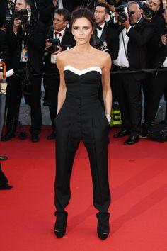Pin for Later: Ne Manquez Pas un Seul des Looks Vus au Festival de Cannes Jour 1 Victoria Beckham