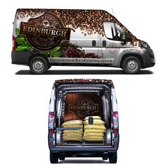 Designs | Design a show stopping Van Wrap for Edinburgh Tea and Coffee Co. | Car, truck or van wrap contest