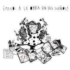 Manos a la obra en tus sueño | Sara Fratini