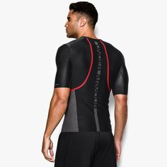 127c3381f Men's UA Charged Compression Short Sleeve Shirt   Under Armour US    Deportes   Pinterest   Compression shorts, Under armour men and Faux  leather pants