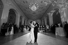 First Dance at the Atlanta Biltmore Ballrooms - Anna and Spencer Photography