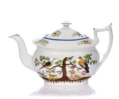 Teapot with birds, early 19th century.