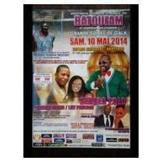 Batoufam : Grande Soirée De Gala, Soirée, Affiches, 2014, Nanterre, Afrique