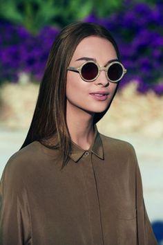 Round sunglasses Emporio Armani