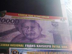 Stop Di Warnai Baliho Frans Kaisepo Di Byak Dalam Paskah