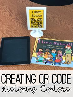 Do you struggle with finding time during your busy school schedule to read aloud to your students? Yep, we all do! No more guilt here though! I found the perfect solution! QR codes that link to my voice reading aloud a book to my students, and you can do it too! Here is a how …