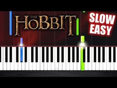 Ed Sheeran - I See Fire - The Hobbit - SLOW EASY Piano Tutorial by PlutaX - YouTube