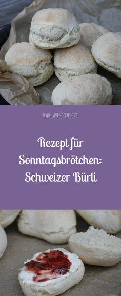 Schweizer Bürli zum Frühstück sind bei uns heißbegehrt: Das Brötchen Rezept ist schnell zubereitet. Die Brötchen über Nacht schmecken am besten mit Frischkäse und Marmelade. Tipp: Unbedingt ausprobieren!
