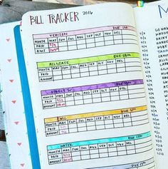 "1,946 Likes, 19 Comments - BJC | Bujo collection (@bulletjournalcollection) on Instagram: ""The Friday Financial: How about a bill tracker for the new year? . Repost @brandi_journals: I got…"""