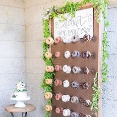 Bringing some glam to this donut wall with @sheahopely. Perfect for your…