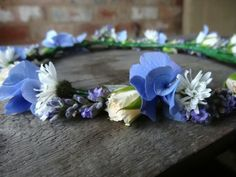 Late summer floral circlet by Catkin www.catkinflowers.co.uk