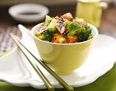 My Asian side sure does come out in my food preferences. Here are some great, healthy Asian food recipes.