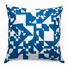 Shapes Royal Throw Pillows | Geometric Accent Pillows | Unison