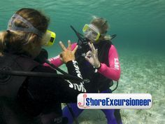 SCUBA Diving 4 Beginners!   This is an introduction to SCUBA diving for beginners with zero experience. No long training needed. Enjoy some snorkeling from the boat after.  http://www.shoreexcursioneer.com/nassau/beginner-scuba-diving.html