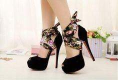 Urban New Look Peep-Toe Heels - HeelsFans.com