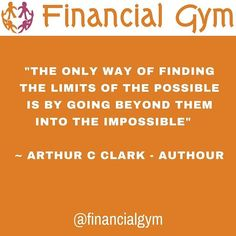 The only way of finding the limits of the possible is by going beyond them into the impossible.  Arthur C Clark - Author  #thoughtleadership #thoughtleader #speaker #speaking #mentor #mentorship #authour #author #expert #guru #famous #leaders  #inspiration #inspirational #inspirationalquotes #feelingempowered #happinessquotes #selfbelief #hanginthere #loveyourself #successquotes #motivation #positivepeople #mindset #lawofattraction #faith