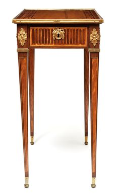 ** Table by the cabinet-maker Georg Haupt.