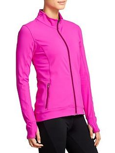 Harmony Jacket - Made from wicking, breathable Pilayo®, this flattering jacket makes the perfect post-practice topper.
