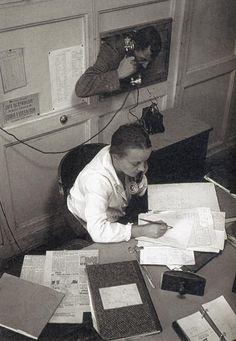 """Родченко, редакция газеты """"Гудок"""" Москва, 1928."""