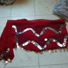 Jingle thing Wraps around waist some missing Accessories Scarves & Wraps