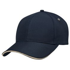 Eco-choice is all about the future. The PET/Sandwich Cap is 100% recycled PET featuring a subtle contrast in the peak.