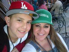 Jenni Rivera & Her Son Johnny Jenny Rivera, Jennifer Rivera, Celebs, Celebrities, Role Models, Diva, Sons, Beautiful Women, Singer