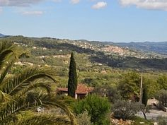 View from Terrace - Mas St Joseph in Seillans - see you again, in July 2013!