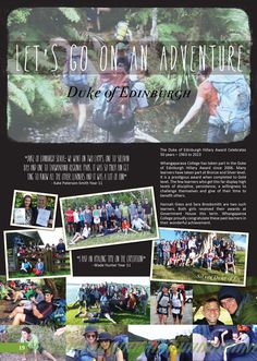 yearbook page - duke of ed